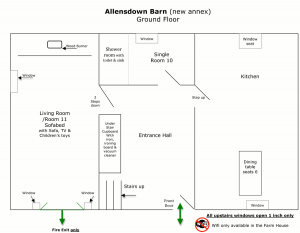 Allensdown downstairs floorplan
