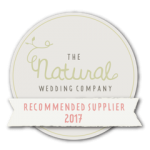 The Natural Wedding Company Recommended Supplier